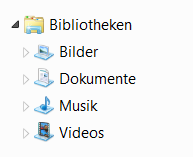 bibliothek musik iTunes