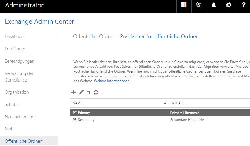 Public Folder Name