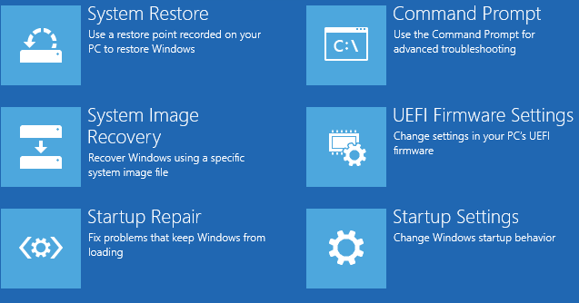 Windows 10 Wiederherstellung